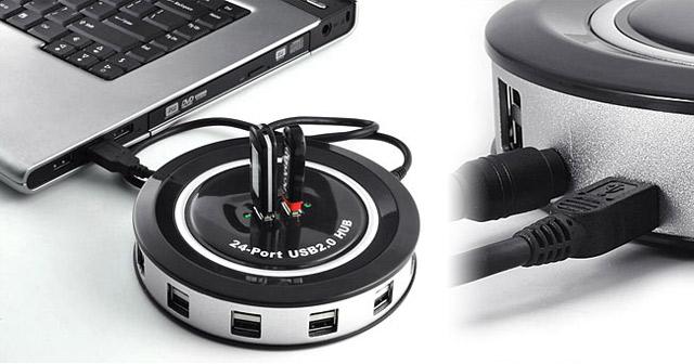 24 Port USB Monster Hub