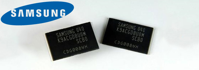 Samsung 3-bit-per-cell 64Gbit flash chip