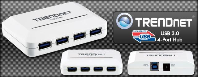 Trendnet USB 3.0 4-port hub