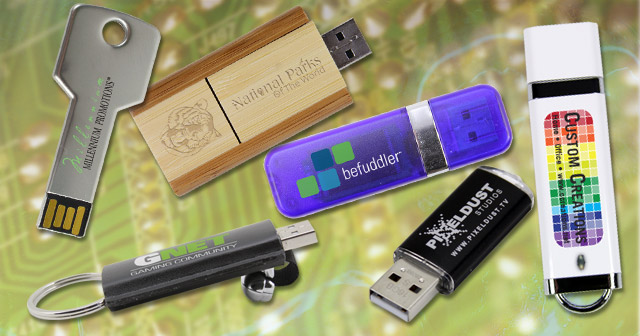 Promotional Custom USB Flash Drives