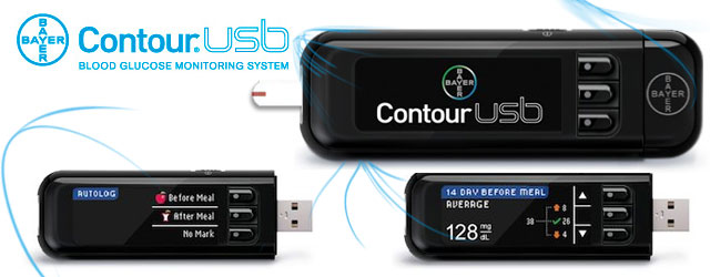Bayer Contour USB Diabetes Flash Drive Meter