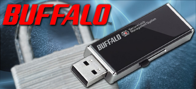 Buffalo 256 bit Hardware Encryption USB Flash Drives