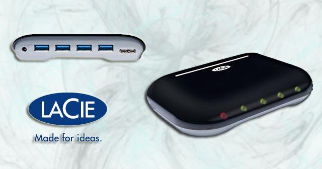 LaCie Hub 4 USB 3.0 Superspeed