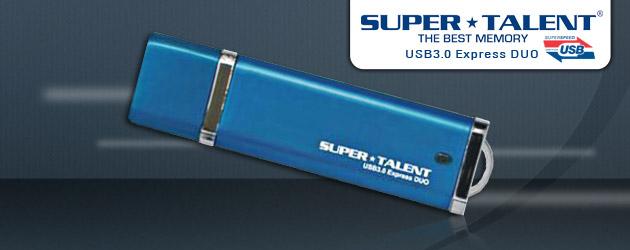 Affordable Super Talent Express DUO USB 3.0 Flash Drive