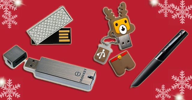 Holiday Gift Ideas USB Flash Drives 2010