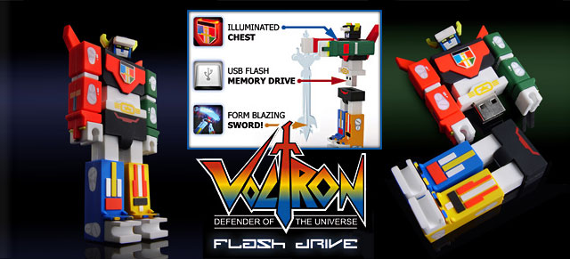 Incubot Voltron Lionforce Defender USB Flash Drive