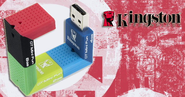 Kingston DataTraveler Mini Fun G2 USB Flash Drive