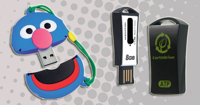 CES 2011-ATP's Sesame Street Earth Flash Drives