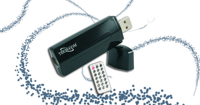 Techcom Portable USB TV Stick