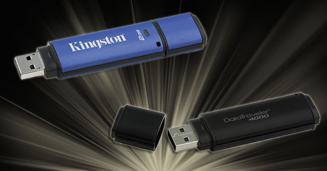 Kingston DataTraveler 4000 &amp; Vault Privacy USB Drive