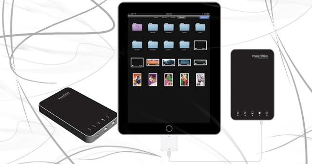 HyperDrive Apple iPad 1TB USB Portable Hard Drive