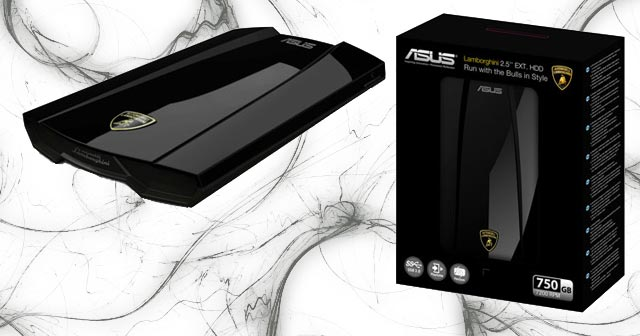 Lamborghini USB 3.0 Hard Drive