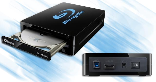 Plextor USB 3.0 Blu-ray Burner