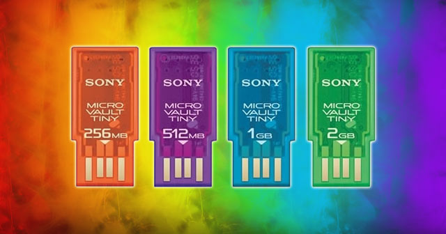 Sony Microvault Style Mini USB Flash Drive