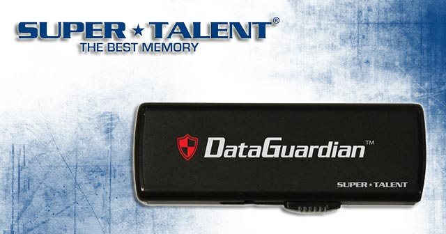 Super Talent DataGuardian USB Flash Drive