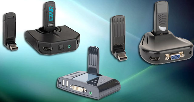 EZAir Wireless USB products for Home Entertaintment