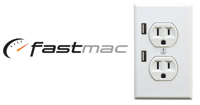 FastMac U Socket USB Power Outlet