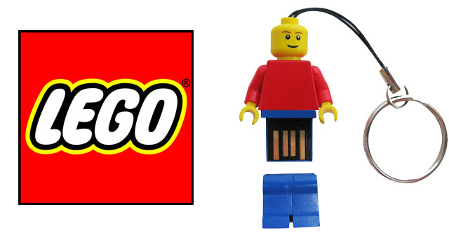 Lego Minifigure USB Flash Drive