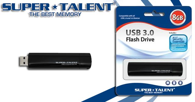 Super Talent USB 3.0 Drive Express Duo 2CH