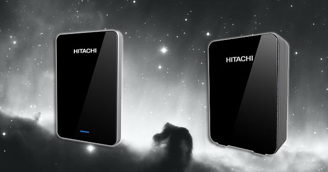 Hitachi Touro Pro USB 3.0 hard drive