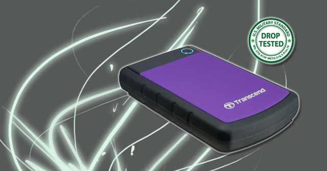 Transcend StoreJet USB External Hard Drives