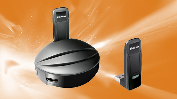 Diamond VStream Wireless USB PC to TV Tuner
