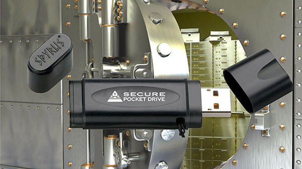 Spyrus Secure Pocket USB Drive