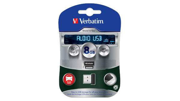 Verbatim Store 'n' Go Car Audio USB Flash Drive
