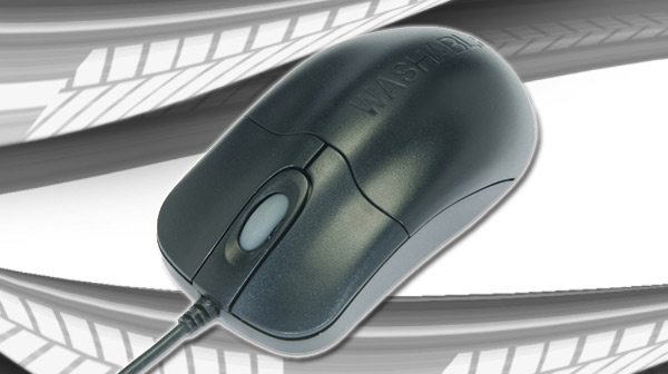 Sea Shiled Silver Storm USB Mouse