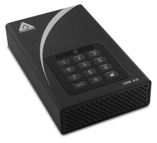 Apricorn Aegis Padlock USB 3.0 Hard Drive