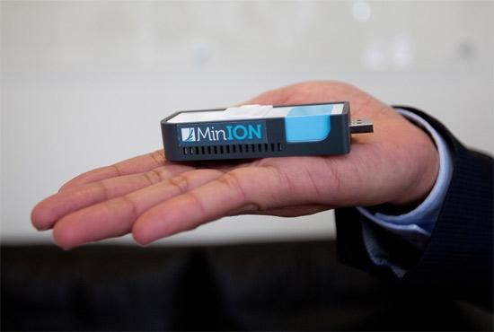 MINion USB DNA Sequencer