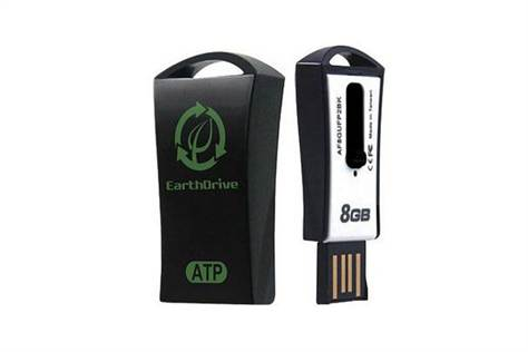 ATP EarthDrive: World's First Biodegradable USB Drive