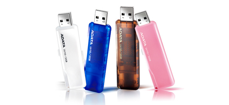 ADATA DashDrive UV110 Colorful Flash Drives