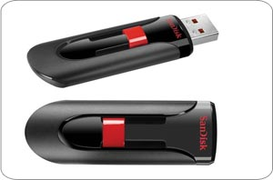 how to put launch on usb sandisk cruzer 32gb