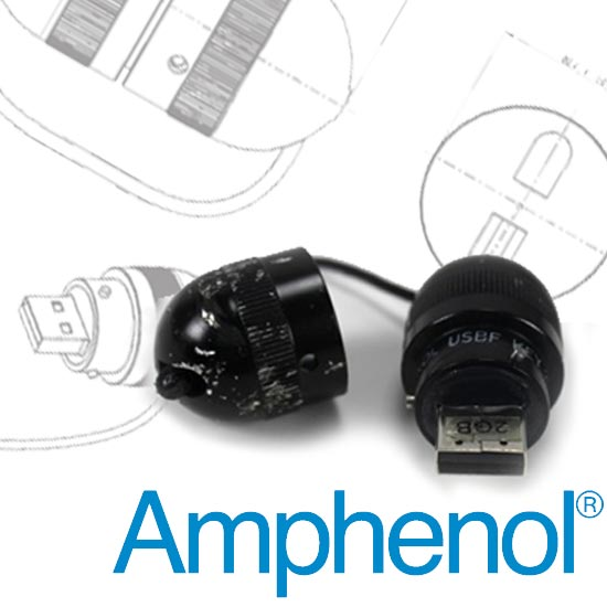 Amphenol The Second Largest Connectors Manufacturer In World And First Defense Industry Has Produced A Truly Rugged Usb Flash Drive That