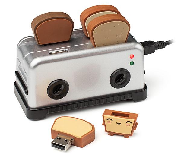 USB 3.0 Toaster Hub And Toast USB Drives