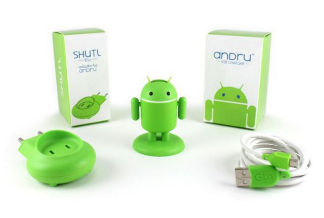 Andru-Android-Robot-USB-Phone-Travel-Charger