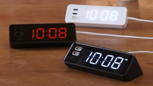 idea international usb alarm clock